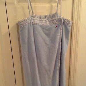 Wraparound Towel w/ straps